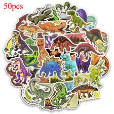 50 Pcs dinosaur sticker cute anime decal stickers for children laptop suitcas HJ