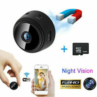 Mini Camera Wireless Wifi IP Security Camcorder HD Night Vision With Memory Card