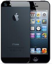 NEUF APPLE iPHONE 5 64GB Débloqué NOIR AVEC DES CADEAUX GRATUITS LTE SMARTPHONE