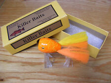 Killer Baits Rusty Jessee Creek Chub Style Glasseye Dingbat n Fl Orange Crackle