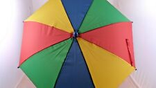 Children's Rainbow Umbrella Multicoloured Kid's Length 60cm
