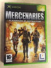 * Original Xbox  Game * MERCENARIES * X Box  XBOX ONE BACKWARDS COMPATIBLE