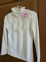 VINTAGE VOIE HIGH NECK BEADED BLOUSE VICTORIAN TOP