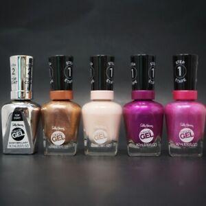 Sally Hansen Gel Nail Polish Salon Color, Pick Shade New  0.5 fl oz