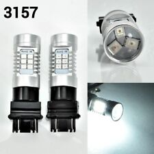 T25 3157 3057 4157 Peformance Auto 21 SMD LED White Front Signal K1 For Eagle A