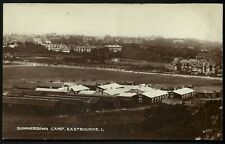 Eastbourne. Summerdown Camp # 4329 by W. Brooker, Eastbourne.