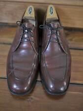 Vintage 60s FREEMAN Free Flex Dapper LEATHER OXFORDS Mens Shoes 9 D 43