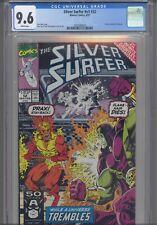 Silver Surfer V3 #55 CGC 9.8 1991 Marvel Comics Infinity Gauntlet Crossover