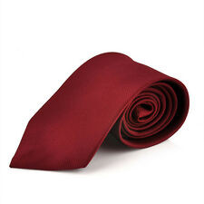 Fashion Classic Solid Tie JACQUARD WOVEN Men's Silk Suits Ties Necktie