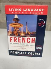 Living Language French Complete Course. Random House Company.  Pre-owned