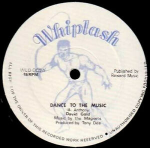"""David Gold  - Dance To The Music (12"""")"""