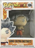 Funko POP Animetion Dragon Ball Z Goku Ultra Instinct Form Vinyl Action Figure
