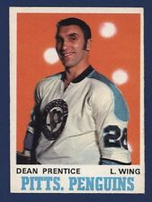 1970-71 O-Pee-Chee #201 DEAN PRENTICE Nrmt+ to Nmmt+ Pittsburgh Penguins!!