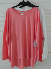 NEW WOMAN'S LADIES 100% COTTON LIGHTWEIGHT TOP CND & Cross INCLUDING PLUS SIZES