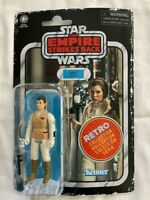 STAR WARS Empire Strikes Back Retro Collection Princess Leia Hoth NEW SEALED