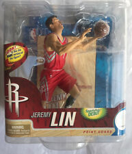 McFARLANE NBA SERIES 21 JEREMY LIN RED JERSEY VARIANT ACTION FIGURE #54/1500