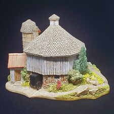 Lilliput Lane - Simply Amish Lg Round Barn Signed by Ray Day