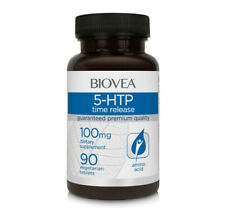 BIOVEA 5-HTP (Time Release) 100mg 90 Tablets