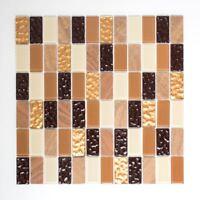 Fliesenspiegel Küchenrückwand selbstklebend Mosaikfliese 200-4MS75_f | 10 Matten