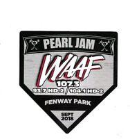 Pearl Jam Boston  Fenway  Park-  September  2 & 4 2018 Sticker
