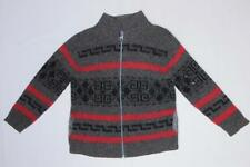 Vintage Pendleton Big Lebowski Dude Wool Gray & Black Cardigan Sweater Jacket L