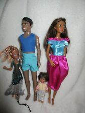 Ethnic Barbie type dolls Family Bundle