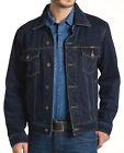 Wrangler Blouson En Jeans Pour Hommes Bleu Noir ou midstone Taille S jusqu'à