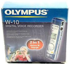 Olympus W-10 digitales Diktiergerät mit eingebauter Digitalkamera 16 MB NEU
