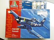 Italeri 1:72 Scale Vought Corsair Modelset - New - Kit # 71044