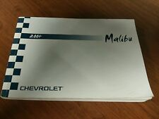 04 2004 Chevrolet Chevy Malibu Owners Manual OEM GUIDE BOOKS SET