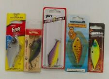 New listing (5) Lipless Crankbaits Assortment Mixed Lot of 5 Fishing Lures