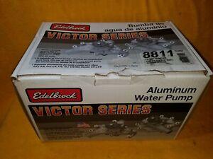 NEW EDELBROCK 8811 VICTOR SERIES HIGH VOLUME WATER PUMP CHEVY SBC 327 350 383