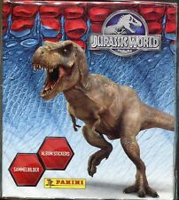 Jurassic World Factory Sealed Panini Sticker Box 50 Packs
