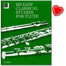 125 Easy Classical Studies für Flöte - Übungsstücke - UE16042 - 9783702412906