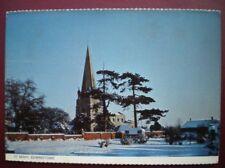 POSTCARD NOTTINGHAMSHIRE EDWINSTONE - ST MARY CHURCH