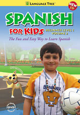 Kids Spanish Beginner Level I Vol. 2 - Spanish Learning 3D DVD For Children