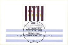 BRD 1994: 20. Juli-Block Nr. 29 mit Bonner Ersttagssonderstempel! 1706