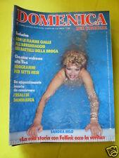 DOMENICA DEL CORRIERE ANNO 88 N. 35 30 AGOSTO 1986