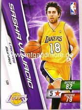 NBA Adrenalyn XL 2011 - Sasha Vujacic #129 - Lakers
