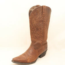 Ariat Women's Size 8.5B Brown Round Up X Toe Western Boots - 10016353