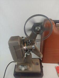 Vintage - Revere - Model 48 16mm Film Projector w/ Case & Cord - Tested Works