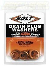 KTM Oil Drain Plug Washer Kit 2 and 4 Stroke Copper BOLT Dirt Bike Motocross