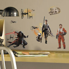 STAR WARS VII THE FORCE AWAKENS wall stickers 15 decals C3PO R2D2 room decor