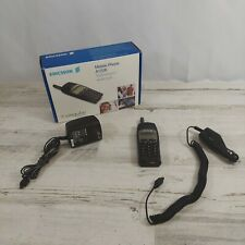 Vintage Ericsson Mobile Cell Phone A1228 Untested w/ Wall & Car Charger & Box