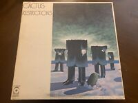 CACTUS RESTRICTIONS VINYL LP ATCO