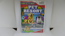Paws & Claws: Pet Resort (Nintendo Wii, 2009) Complete