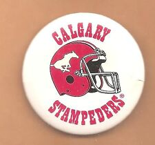 Calgary Stampeders Officially Licensed Helmet Logo Cfl Button