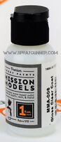 Mission Models Non Solvent Based Airbrush Paint Color: Gloss Clear Coat