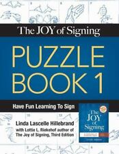 The Joy of Signing Puzzle Book/02Tc0676-ExLibrary