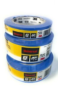 3M Scotch Blue Painters Masking Tape professional 24mm 36mm 48mm wide x 50m long